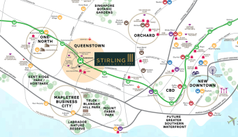 stirling-residences-alexandra-commonwealth-condo-location-map-singapore